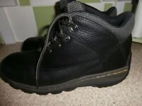 size 9 DR MARTENS steel toe cap boots - like new - see photos