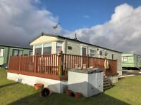 STATIC CARAVAN FOR SALE IN AYRSHIRE NEAR GLASGOW CLOSE TO THE SEA + NO AGE LIMIT & CHEAP SITE FEES
