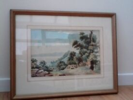 Original watercolour painting