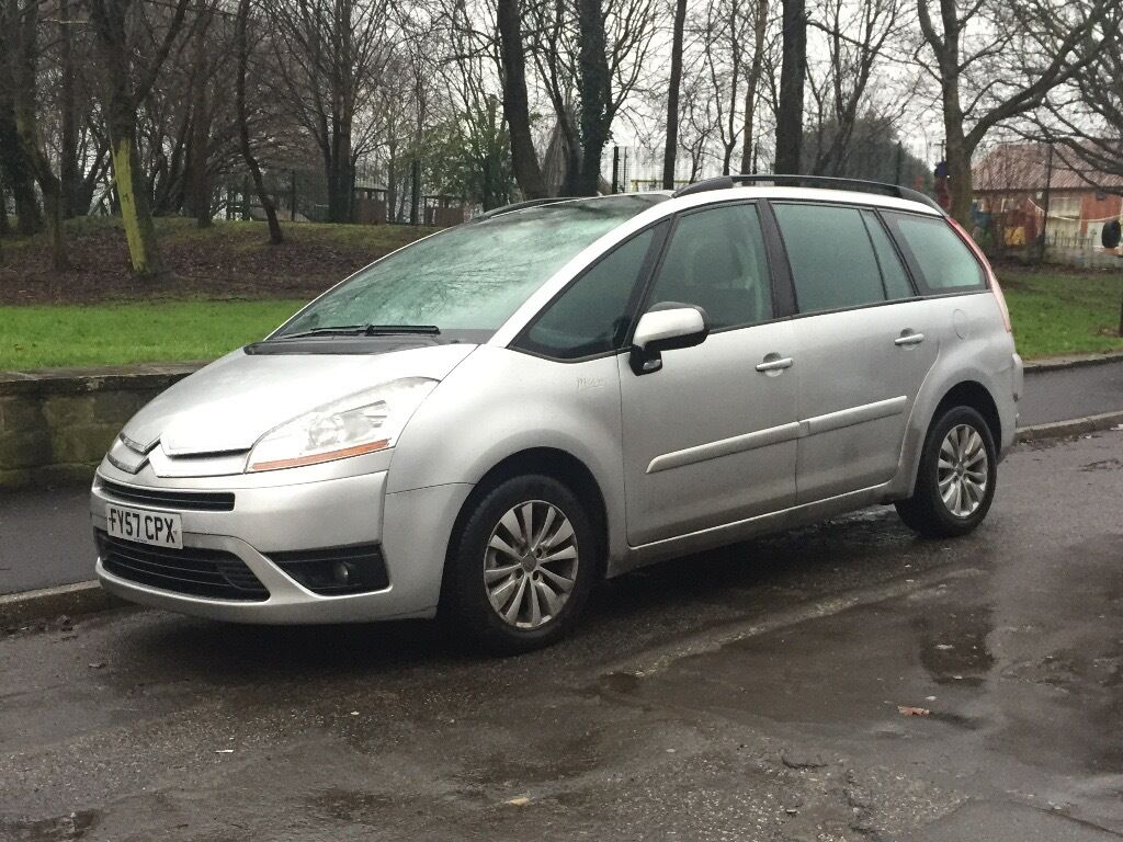 citroen c4 vtr plus hdi 2007 1 6 diesel semi auto 7 seater in sheffield south yorkshire gumtree. Black Bedroom Furniture Sets. Home Design Ideas