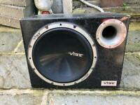 Vibe sub and amp