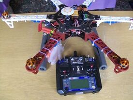 Brand New F550 Drone along with HD 1080 Camera & Naza V2 with GPS