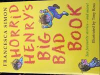 Horrid henrys big bad book