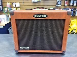 Amplificateur acoustique instruments/voix + effets KUSTOM KAA35TH dfx 35W  #F021475