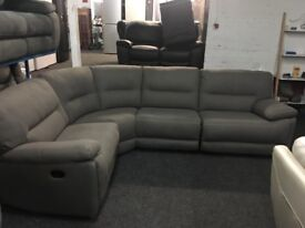 NEW / EX DISPLAY LazyBoy Recliner Corner Sofa (Left or Right Corner)