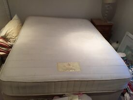 King size mattress, 150cm x 200cm, good condition been in guest bedroom only