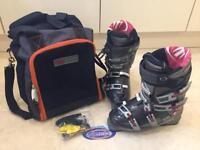 Tecnica X10 men's ski boots. Size UK 9.5, Euro 44