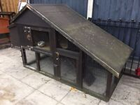 Huge home made rabbit hutch / chicken coop