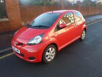 TOYOTA AYGO 1.0 VVTI MOTD MARCH 2017 1 YEARS TAX SAT NAV ONLY £20 PER YEAR TO TAX WITH