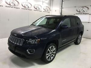 2014 Jeep Compass Limited / LEATHER / HEATED SEATS / ALLOY RIMS