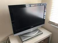 Samsung LCD TV and DVD player