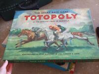 4 vintage board games