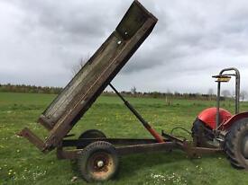 Weeks tipping trailer, 3 ton