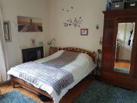 Gorgeous double bedroom in central Bruntsfield