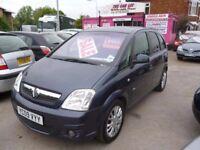 Vauxhall Meriva active plus,MPV,service history,very clean tidy MPV,runs and drives as new,