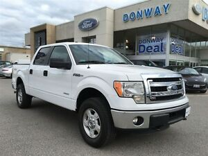 2014 Ford F-150 CERTIFIED PRE-OWNED XLT 4x4, 3.5L V6 Ecoboost