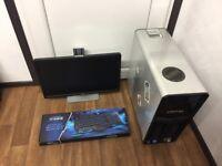 Dell XPS Gaming Computer PC Complete Setup (Intel i5 2500K, 16GB RAM, 1TB HD, GTX 460 Nvidia Geforce