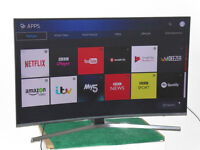"SAMSUNG 49"" SMART 4K ULTRA HD HDR LED TV WITH FREEVIEW HD & FREESAT HD..... 2017 MODEL"