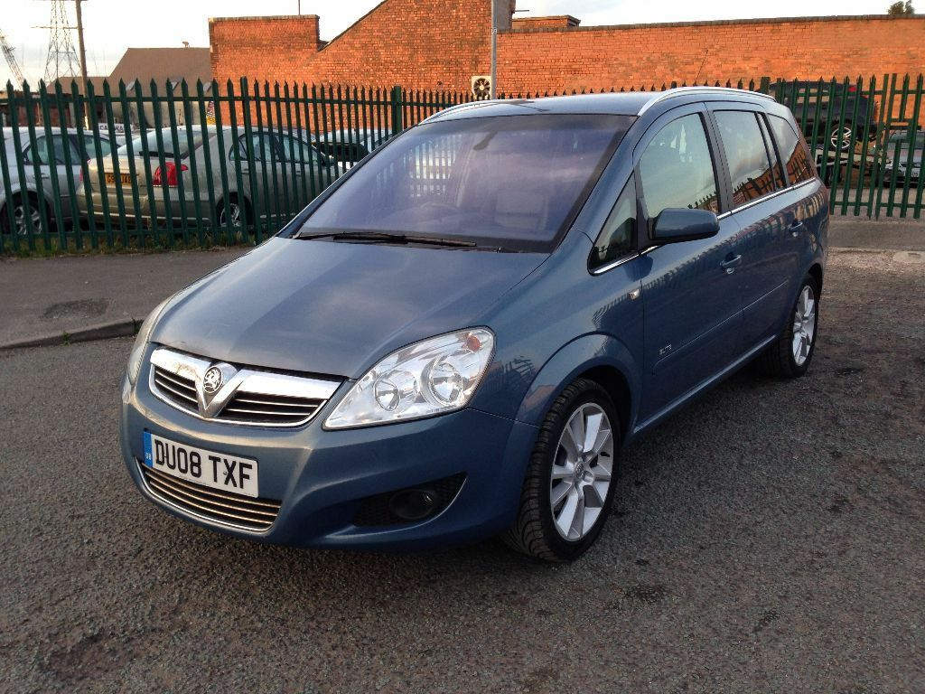vauxhall zafira 1 9 cdti elite 2008 reg new shape service history in saltley west. Black Bedroom Furniture Sets. Home Design Ideas