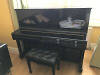 Yamaha upright1. Bought only 3.5 years. Very good condition. Together w piano stool. Moving sale