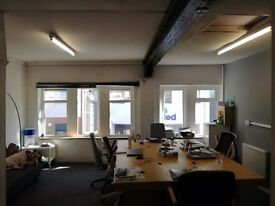 2-5 person office space (45sqm) available in character building near city centre, flexible terms