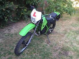 Kawasaki kmx125 road legal