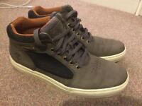 Men's Grey Timberland Boots sz 8