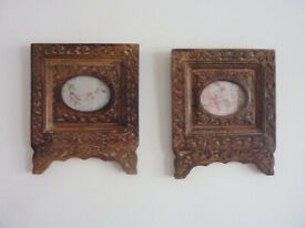 Small Carved mango wood frames - £30