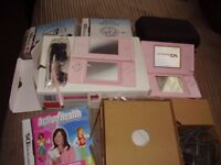NINTENDO DS LITE ALL BOXED MINT WITH GAMES
