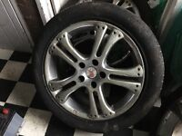 """17"""" Honda Civic type r wheels stainless steel rims with tyres"""