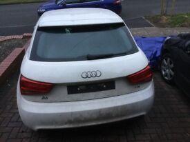 White 2013 Audi A1 Sport TDi 1.6L £2500