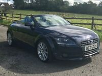Excellent condition 2008 Audi TT Quattro Roadster 2.0 TDI, 1 owner from new with 68k.