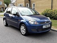 08/58 FORD FIESTA 1.2 STYLE 5dr 44,000 MILES FULL MAIN DEALER HISTORY