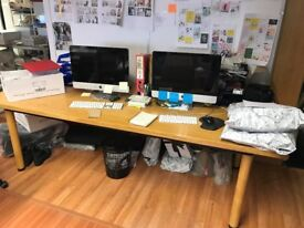 Free Large desk or office large meeting table