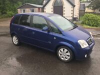FOR SALE VAUXHALL MERIVA DESIGN MPV 1.4-2006 **ONLY 2 OWNERS ** £375 NO OFFERS**