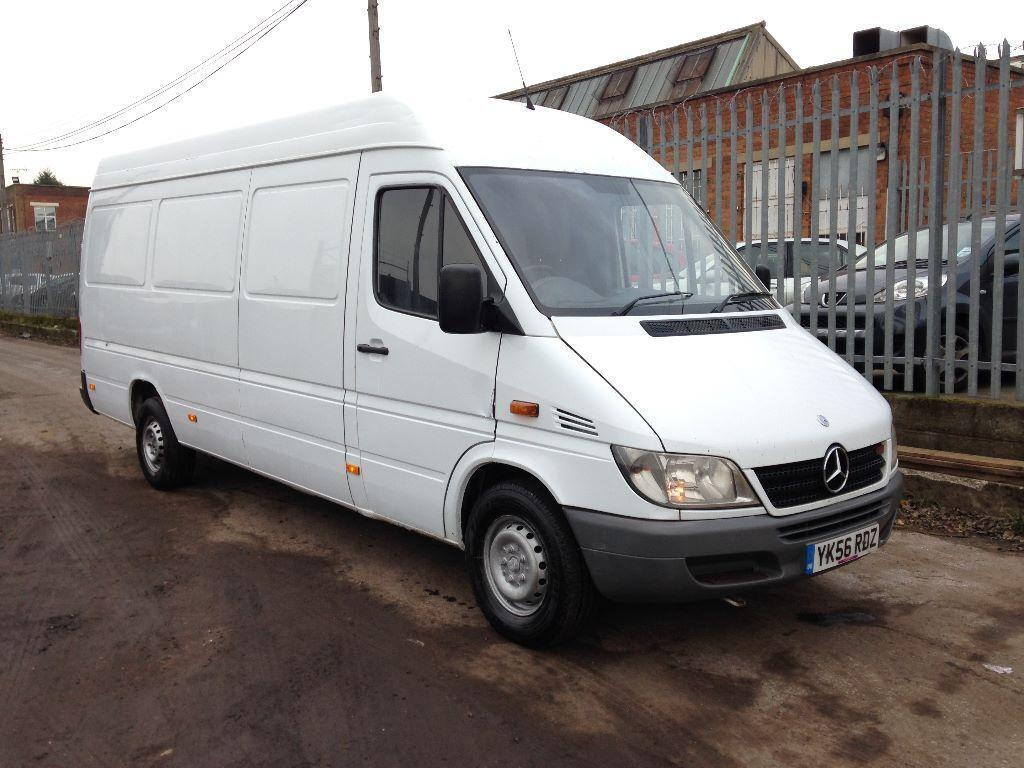 2006 56 mercedes sprinter 311 cdi lwb 5 speed manual 110 bhp 12 months mot 313 cdi 315 cdi 316. Black Bedroom Furniture Sets. Home Design Ideas