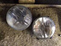 Mk2 golf heller back lights and crosshair front lights