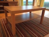 Coffee table- Ikea LACK- very good condition