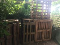 FREE Hardwood Crates/ palltes to collect