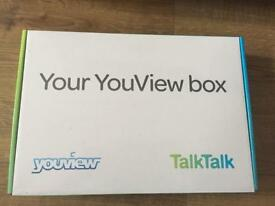 Talk talk box never used