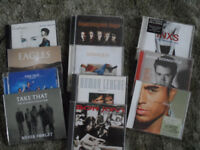 An eclectic mix of cds