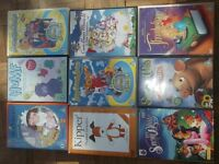 9 DVD'S HUMF AND OTHERS