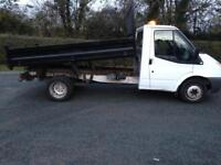 Ford transit tipper 2012