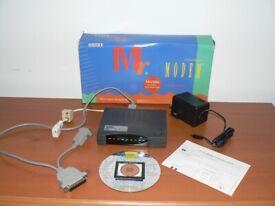 MRI Mr Modem external fax modem