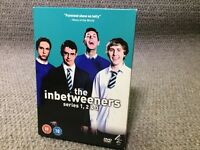 The Inbetweeners Series 1, 2 & 3 DVD Set - £4
