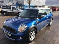 Mini Cooper 2007 automatic club man low mileage blue stunning!!