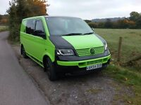 Vw t5 campervan swb