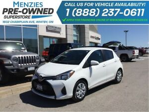 2016 Toyota Yaris LE, Bluetooth, Sirius, Air, Cruise, Tint