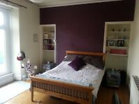 Large double room available in creative and professional shared house. Bills included!