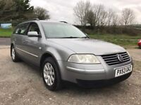 VOLKSWAGEN PASSAT SE 1.9 TDI TIPTRONIC AUTO ESTATE GREY 2003 LEATHER DIESEL